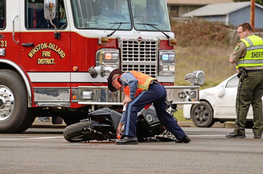 What should motorcyclists do after an accident - Spivey Law