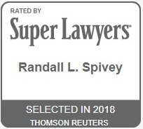 Randall L. Spivey 2018 Super Lawyer