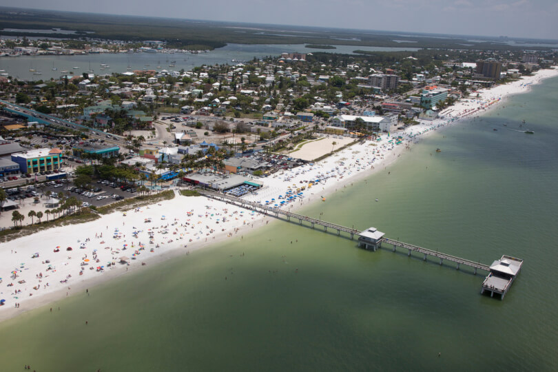 Aerial View of Fort Myers