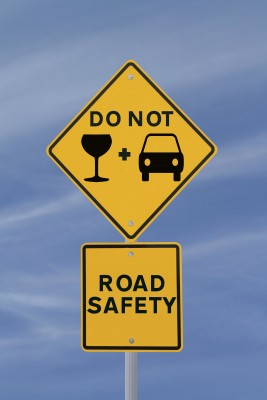 Do Not Drink and Drive Road Safety Sign