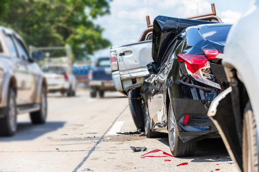 Who is responsible for multi-vehicle accidents - Spivey Law