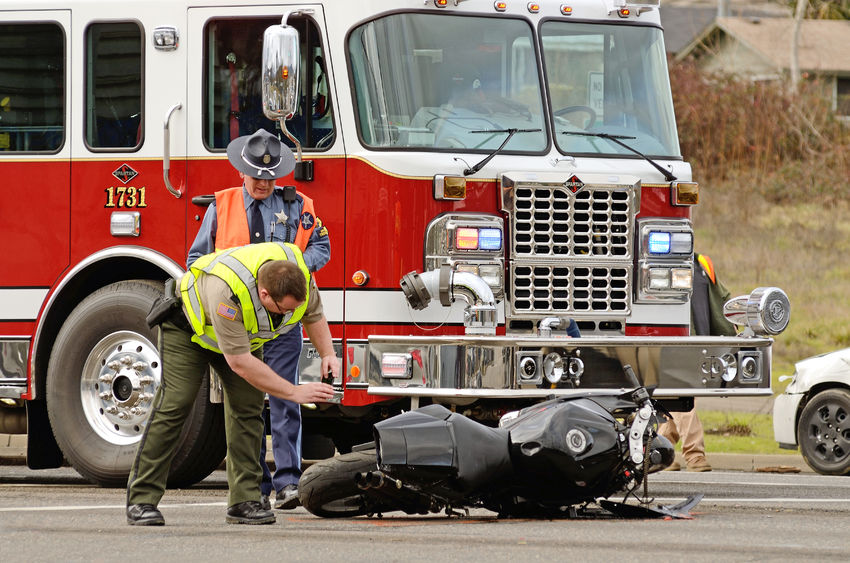 What evidence can be used in litigating a motorcycle accident case - Spivey Law