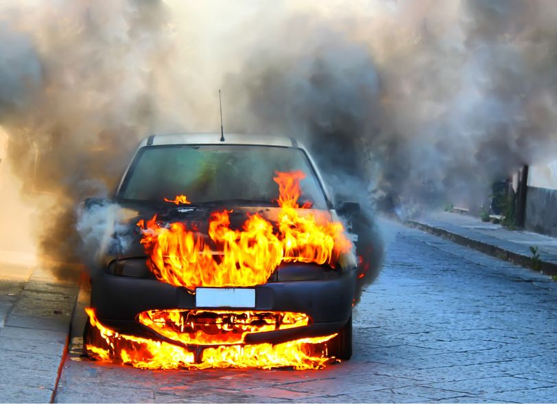 5 Common Causes of Car Fires - Spivey Law