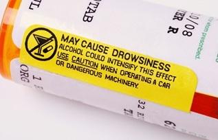 Prescripts bottle warning label