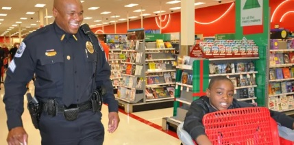 Spivey Law Firm Supports Ft. Myers Shop with a Cop Back to School Program