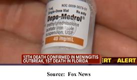 Alert - Contaminated Depo-Medrol