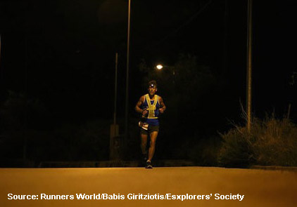 Running in the dark - Drivers watch out for runners; Runners watch out for drivers - Spivey Law Firm, Personal Injury Attorneys, P.A.
