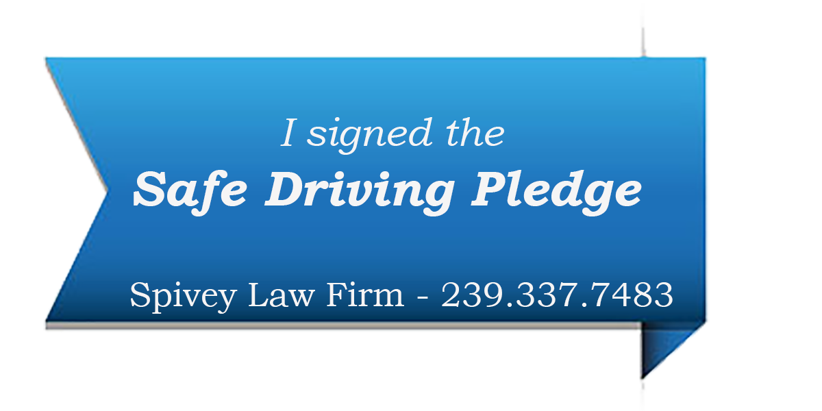 Safe Driving Pledge - Spivey Law