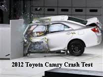 2012 Toyota Frontal Crash Test Ranks Poor