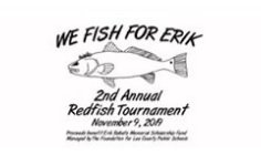 Spivey Law Firm Supports We Fish for Erik 2nd Annual Redfish Tournament