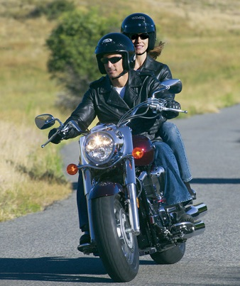 Helmeted Motorcyclists - Safety Tip